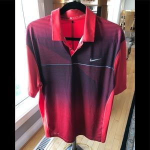 Nike Tiger Woods Collection Golf Polo shirt, Med.
